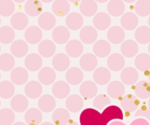 corazones, dots, and glitter image