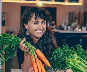 carrots, lifestyle, and smile image