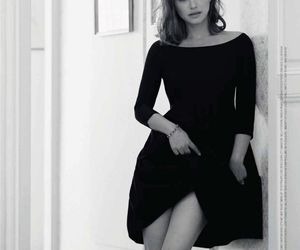 black and white, dress, and miss dior image