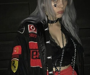 billie eilish, grunge, and aesthetic image