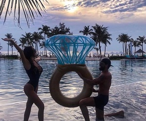 couple, ring, and goals image