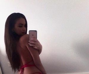 bikini, girl, and luxury image