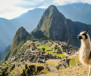 machu picchu and peru image