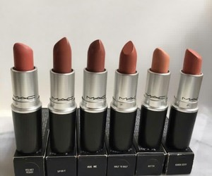 beauty, cosmetics, and lipstick image