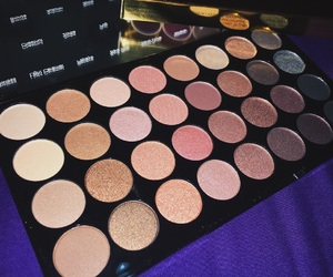 eyeshadow, makeup, and makeup revolution image