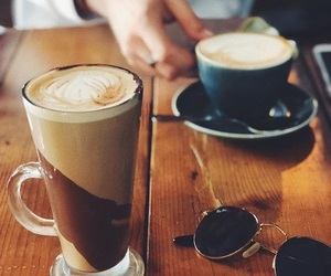 chocolate, coffe, and girls image