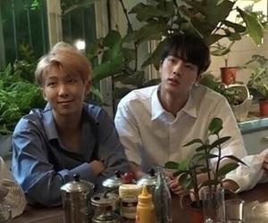 jin, bts, and namjoon image