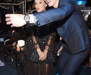 shawn mendes, millie bobby brown, and shawn image