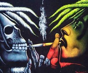 420, art, and cannabis image