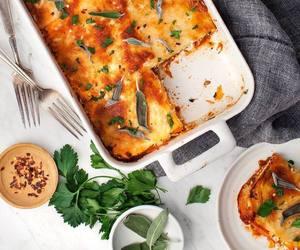 delicious and lasagna image