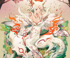 97 Images About Okami Amaterasu On We Heart It See More About