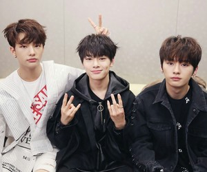 stray kids, Minho, and jeongin image