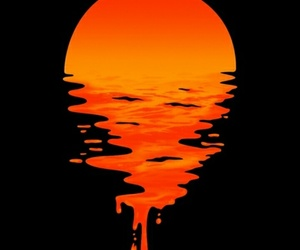 sunset and wallpaper image