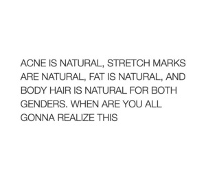acne, fat, and natural image