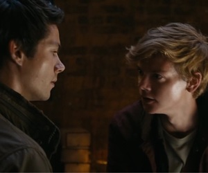 gif, maze runner, and thomas brodie-sangster image