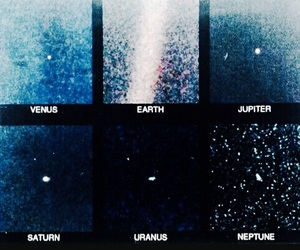 astrology, blue, and planets image