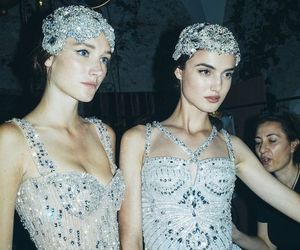 backstage, dior, and editorial image