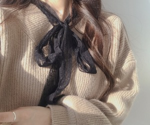 beige, cute, and black image