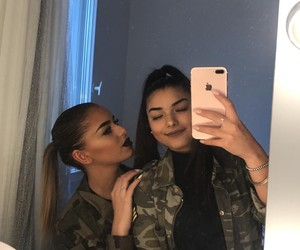 friendship, lifestyle, and sisters image