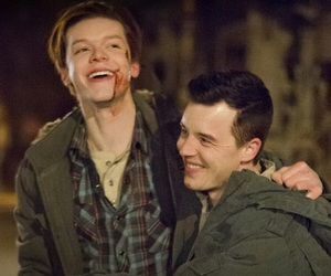 shameless, gallavich, and ian gallagher image