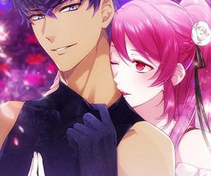 anime, game, and anime couple image