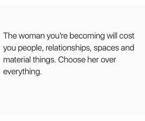 true and woman image