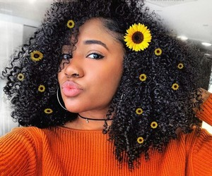 aesthetic, curls, and curly hair image