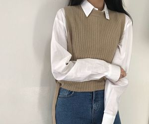 korean and outfit image