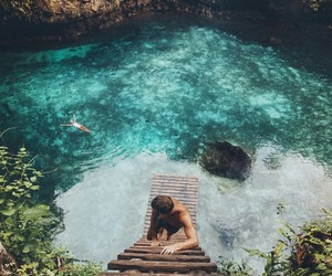 travel, summer, and blue image