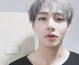 aesthetic, bangtan, and v image