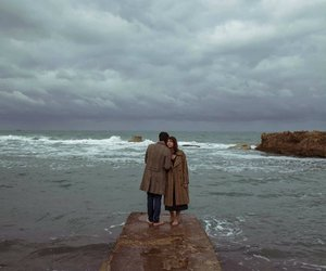 beauty, clouds, and couples image