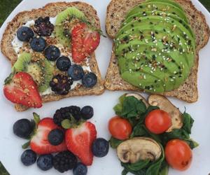 avocado, food, and green image