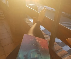 alone, book, and lonely image