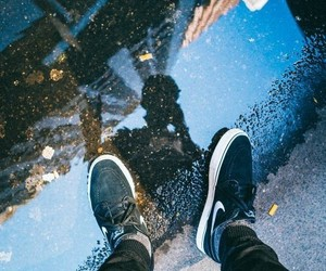 nike, photography, and city image