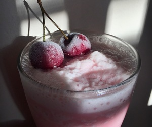 cereza, cherry, and frozen image