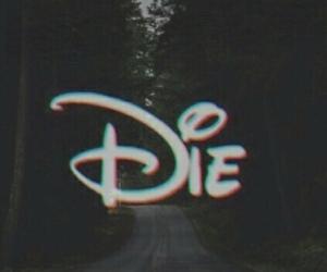 disney, die, and grunge image