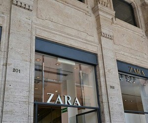 shopping, Zara, and store front image