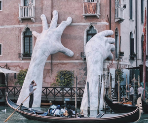 venice, art, and travel image