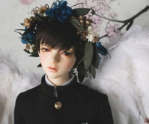 bjd, boy, and doll image