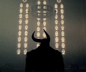 demon, aesthetic, and black image