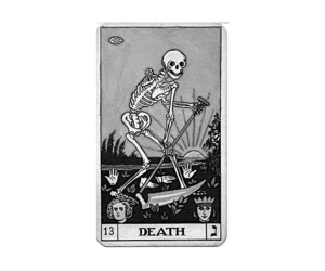 card, death, and aesthetic image