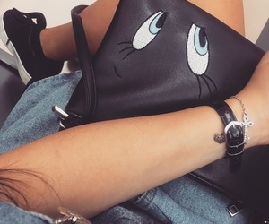 bag, outfit, and 👀 image