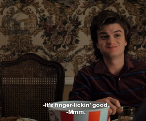 quotes, steve, and stranger things image