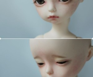 bjd, doll, and porcelain doll image