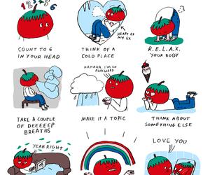 draw, english, and blushing image