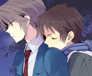 anime, suzumiya haruhi no yuutsu, and kyon image
