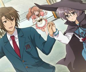 anime, manga, and mikuru asahina image
