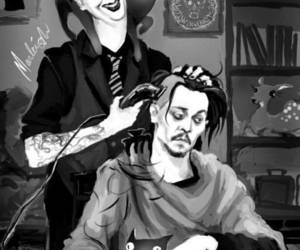 antichrist, art, and bad boy image