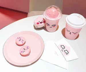 pink, apeach, and cute image