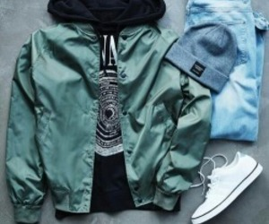 beanie, fashion, and hoodie image